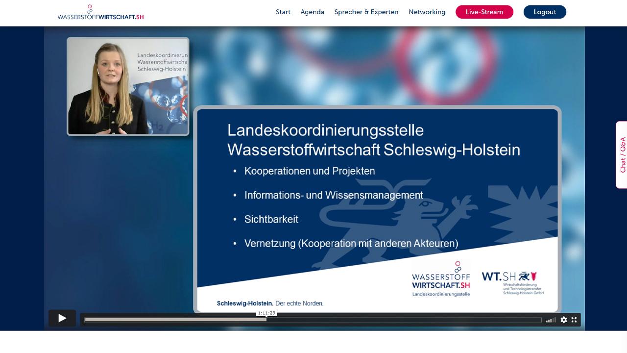 Auftaktveranstaltung Wasserstoffwirtschaft Schleswig-Holstein